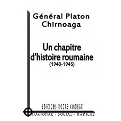 Chirnoaga Platon, Un chapitre d'histoire roumaine