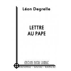 Degrelle Léon, Lettre au pape
