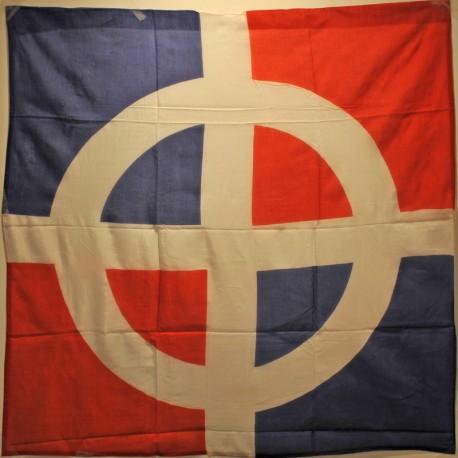 Drapeau croix celtique tricolore