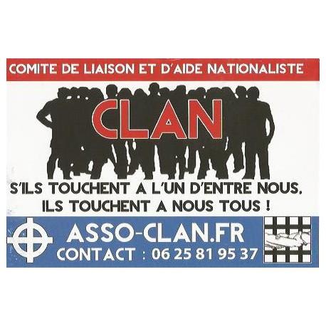 Autocollant Clan